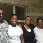 The Homestead Staff members - Never, Thandi, Carol and Lizzy (Chef)