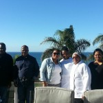 SAPS Rugby week - Genl Hlela, wife & our staff members