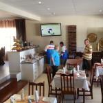 BIKE WEEK - PATRICIA, HENNIE & MARTIN IN DINING ROOM