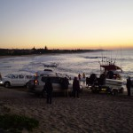Boats ready for great fishing at Shelly Beach